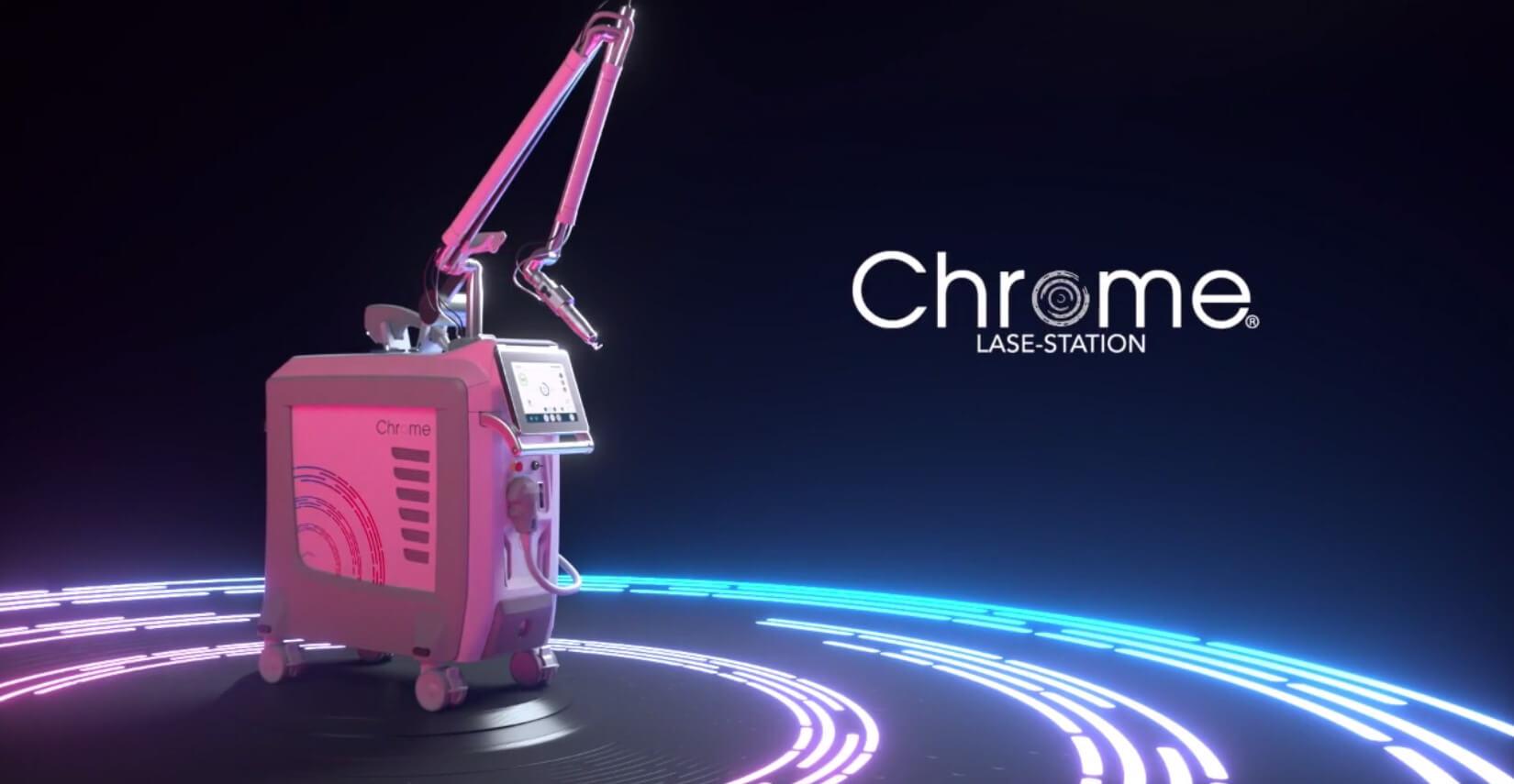 лазерни системи Chrome